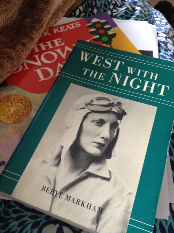 West With the Night by Beryl Markham. (1983)